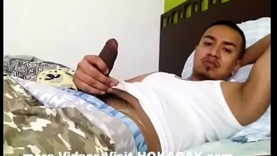 Pinoy Moreno, Jackoff and Cumshot