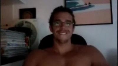Straight Brazilian in handjob