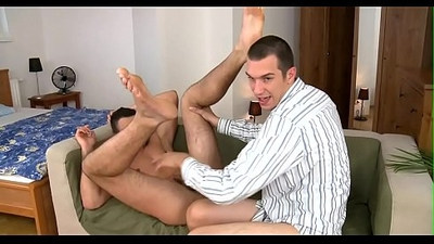 Vigorous and wild homosexual sex