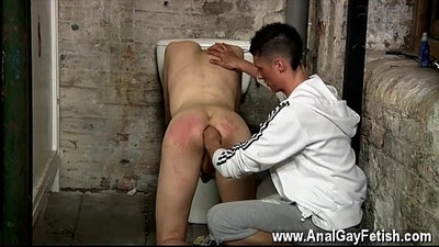 Gay porn Hes prepared to grip the youth and use his arse for his own