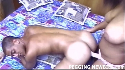 I cant wait to peg your tight white ass