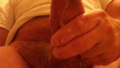 My hard cock cum