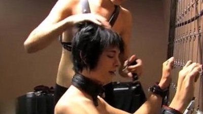 Gay XXX Baretwinks heads all out in this restrain bondage flick with