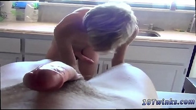 Naked gay boys having sex A Cum Load Over His Smooth Taint!