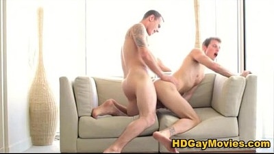 Gay lovers explode in ecstasy