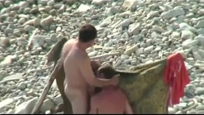 Ukranian oral at beach