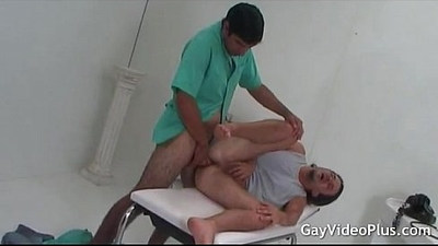 First a toy in his ass